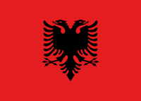 Flag of Albanie