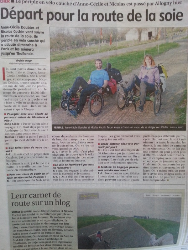Article du berry republicain