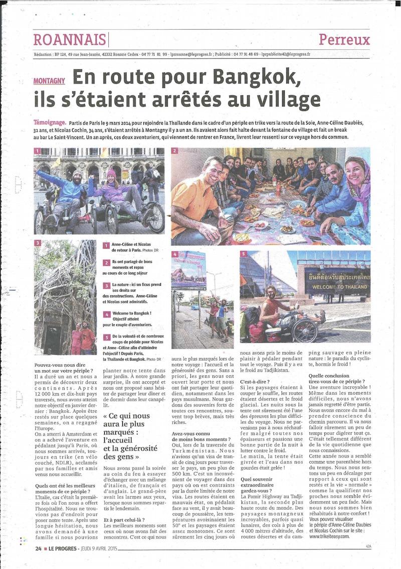 ARTICLE LE roannais
